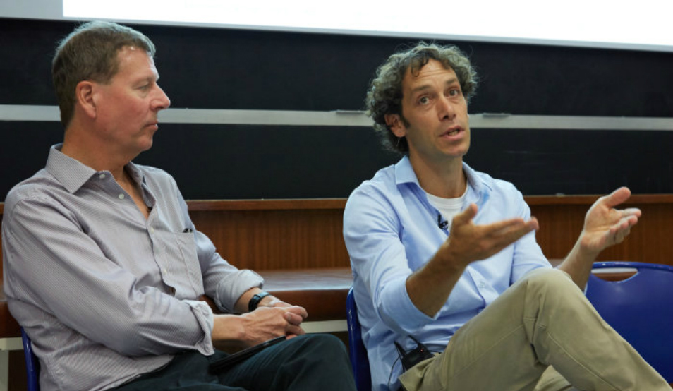 Dr Nir Grossman and Professor Paul Matthews