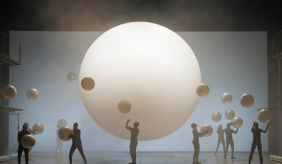 ENO Breathe - courtesy of English National Opera (production of Phillip Glass's Akhnaten)
