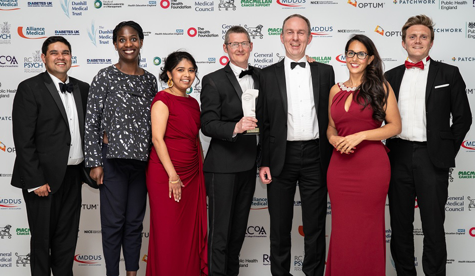Multi-trust NHS team win BMJ award for FCA