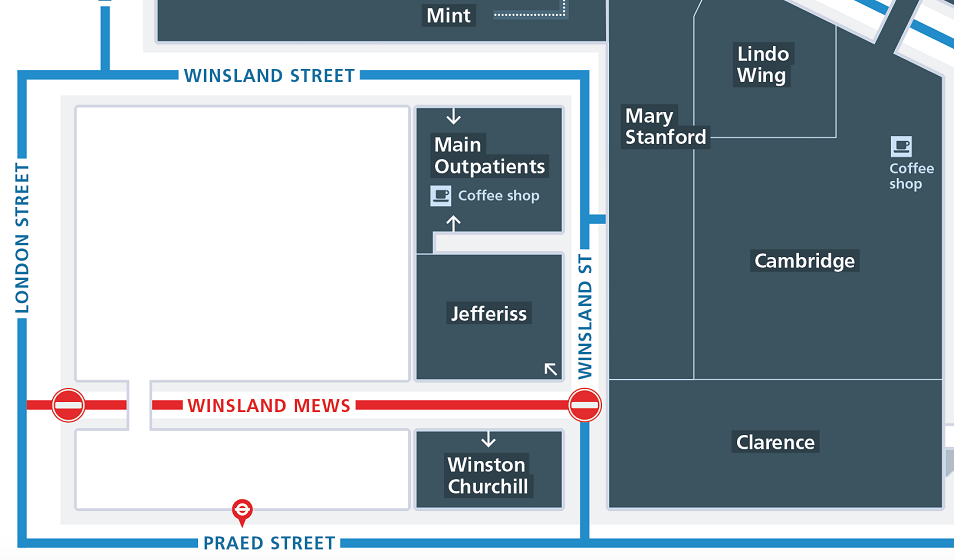 Winsland Street Mews Closure