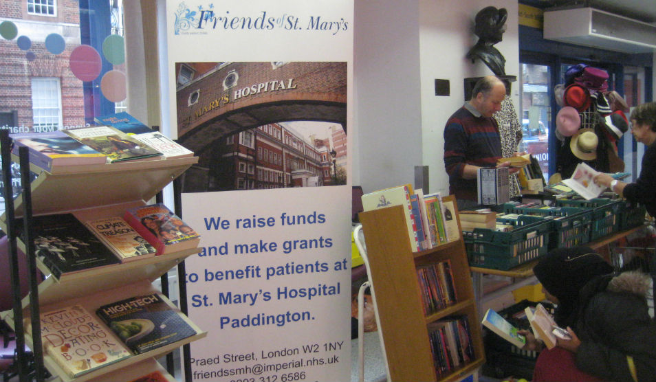 Friends of St Mary's book sale