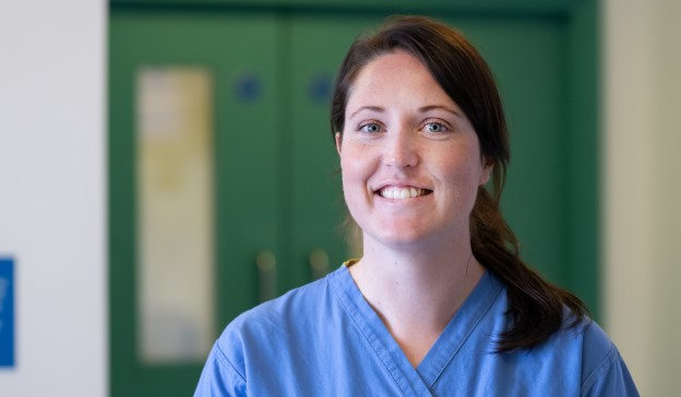 Abigail Goodwin, intensive care nurse at St Mary