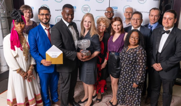 The rapid-result flu test team at North West London Pathology won the Chair's award at the Trust's 2019 Make a Difference awards.