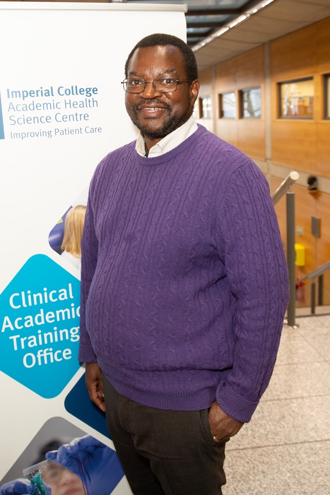 Moses Tanday, biomedical scientist at Imperial College Healthcare NHS Trust completed the Starting Out in Research programme in 2019