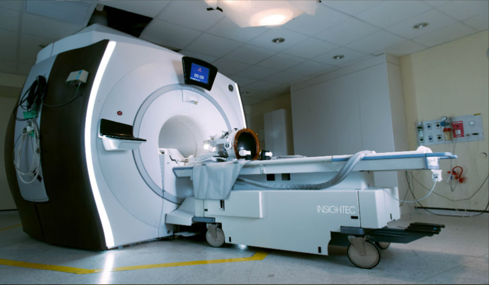 INSIGHTEC MRI guided focused ultrasound for brain