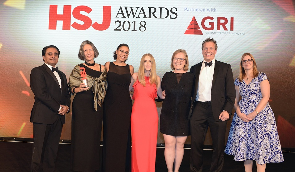 CC4C team win HSJ award