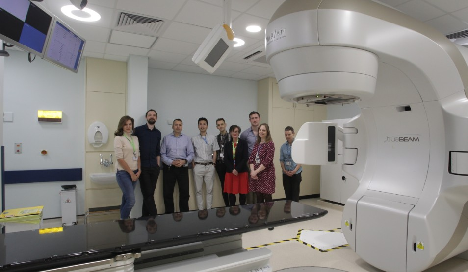 New LINAC machine at Charing Cross