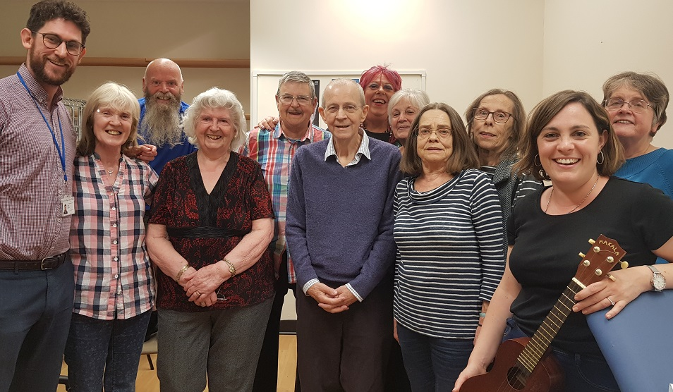 Singing for breathing group June 2019