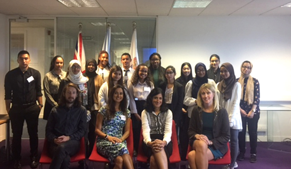 Twenty London teenagers complete innovative education programme to support their path towards a healthcare career