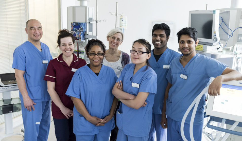 Charing Cross critical care team