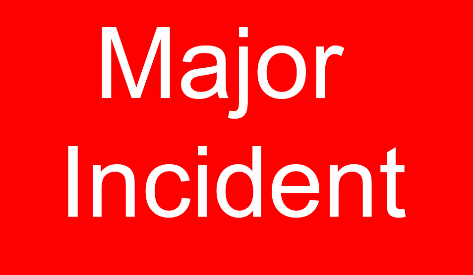 Major incident